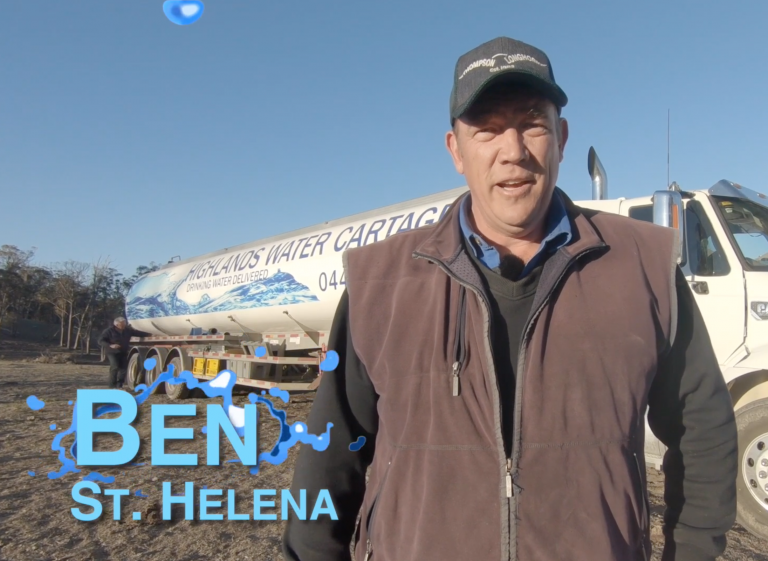 Highlands Water Cartage - Testimonial Feature