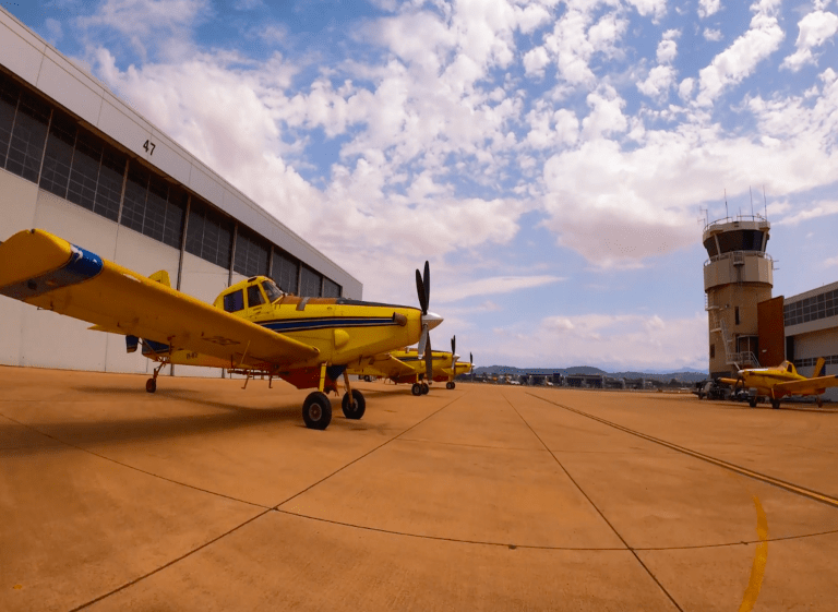 Aviation Firefighting Support for Act Fires 2020